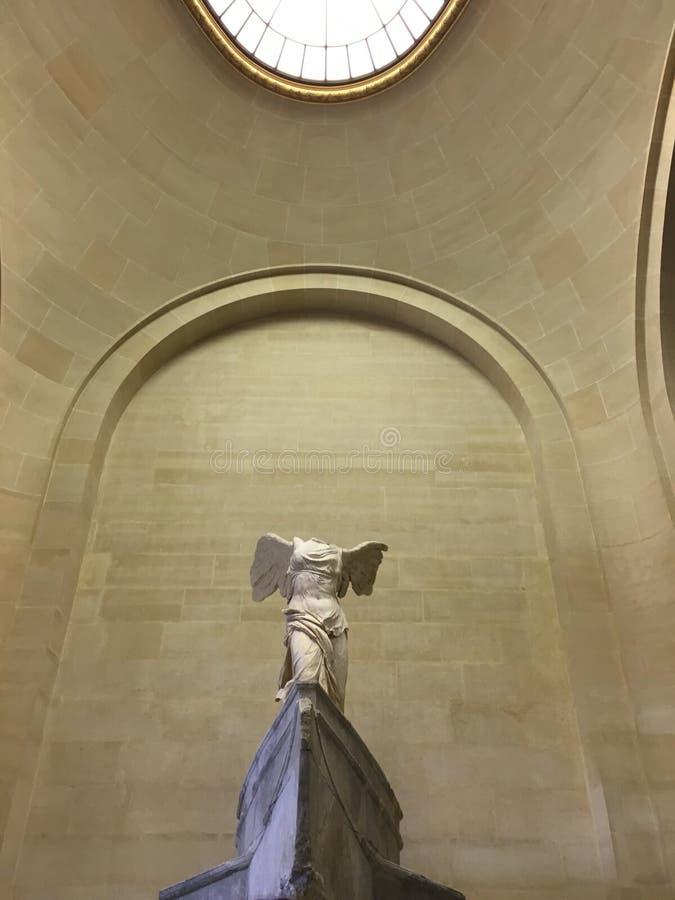France 2007 June luwru muzeum Pary?a obrazy stock