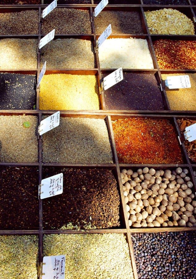 france kryddor arkivfoton