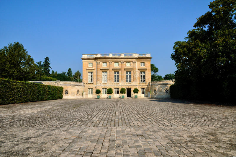 France, le Petit Trianon in Marie Antoinette Estate. Ile de France, le Petit Trianon in Marie Antoinette Estate royalty free stock photography