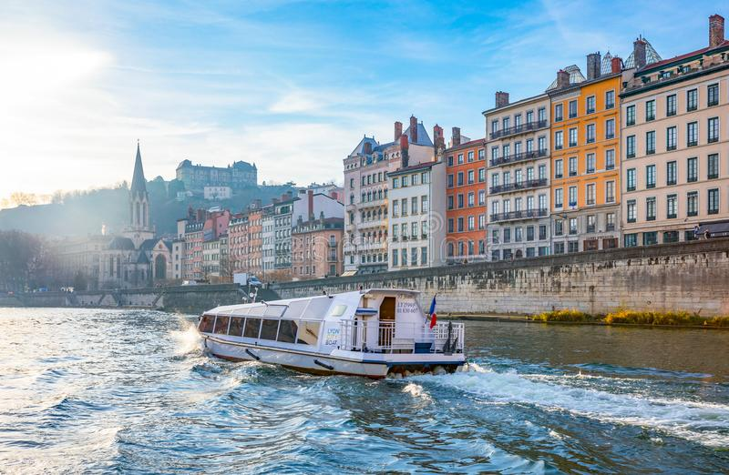 Download Arhitectures In The Old Town Of Lyon Editorial Image - Image of nobody, europe: 105017745