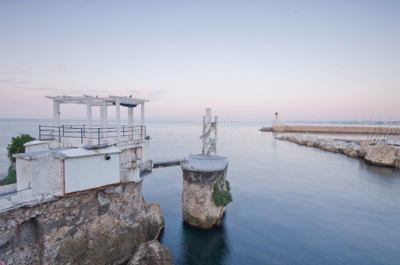 france medelhavs- trevlig seascape arkivfoto