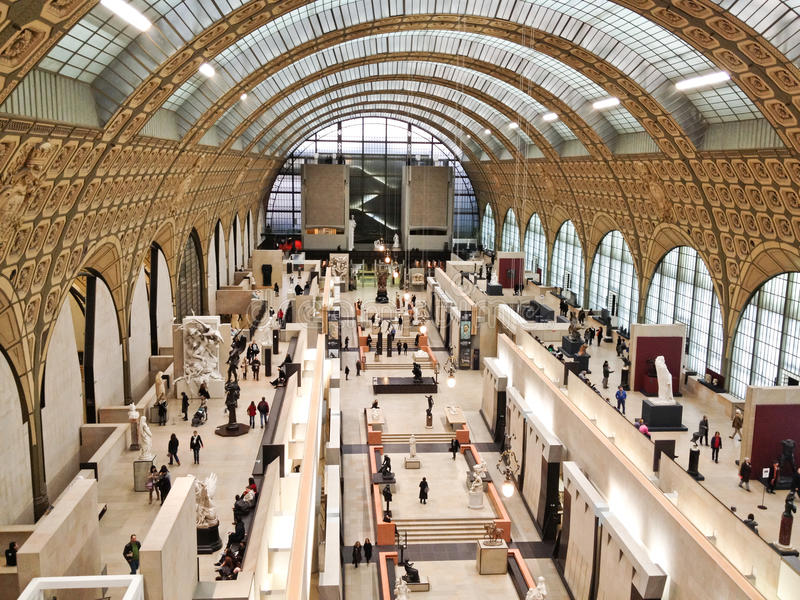 france muzealny orsay Paris obraz stock