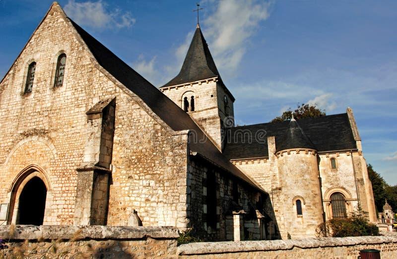 France, Normandie: Igreja de Wandrille de Saint imagem de stock royalty free