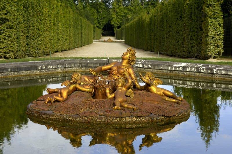 france pałac Versailles zdjęcie royalty free