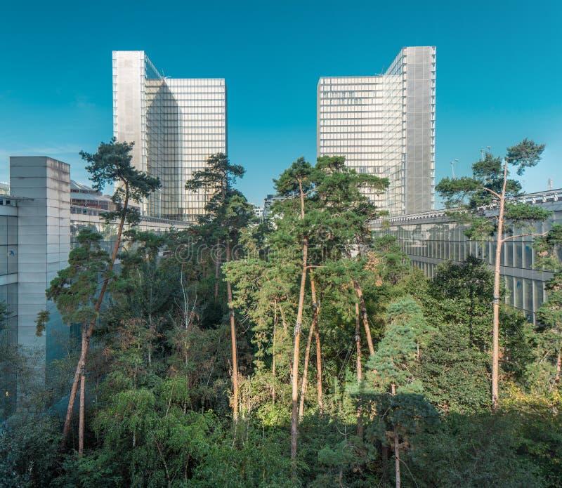 France, Paris: Biblioteca nacional imagem de stock