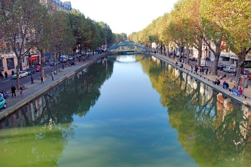 Download France, Paris: Canal Saint-Martin Stock Image - Image: 4070677