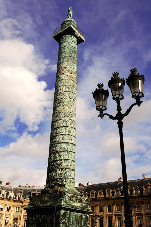 Download France, Paris: Column And Place Vendome Stock Photo - Image: 7451956