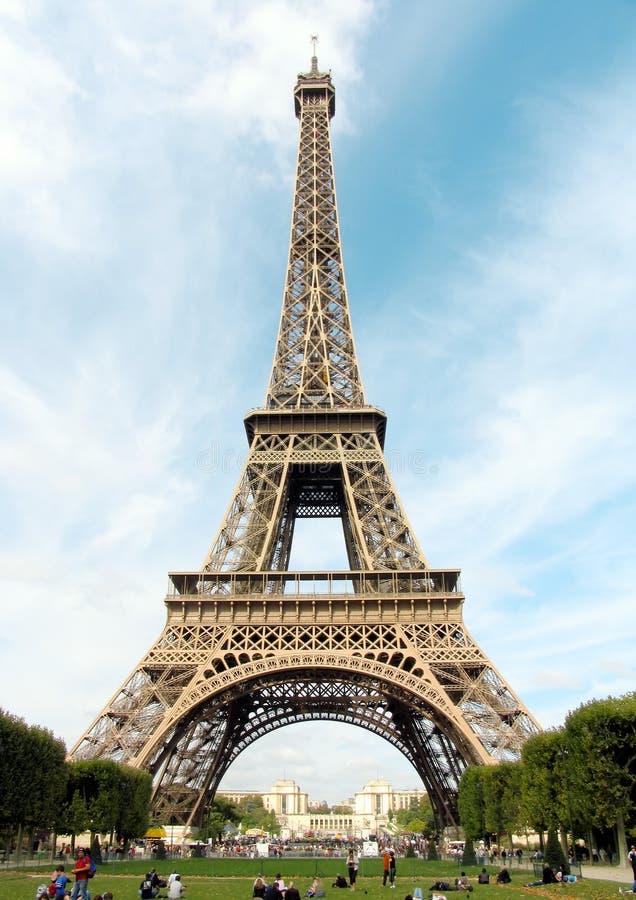 France.Paris.Eiffel toren royalty-vrije stock foto's