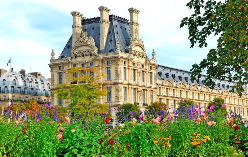 France, Paris: Louvre Palace stock image
