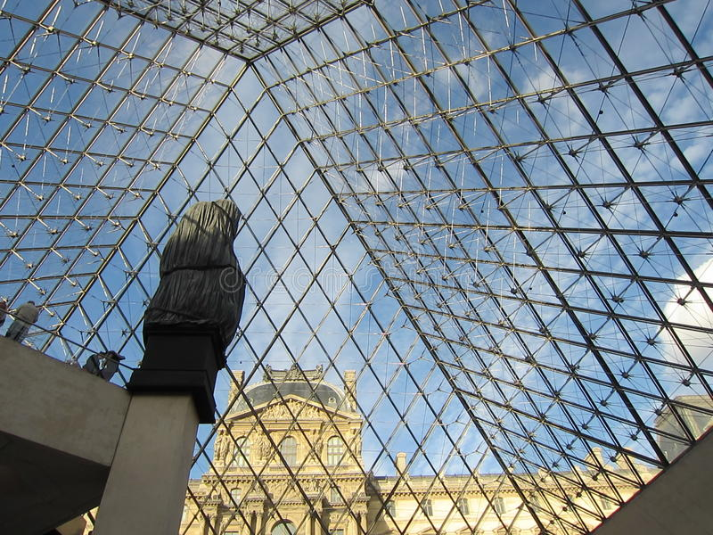 France, Paris, Musee du Louvre royalty free stock photography