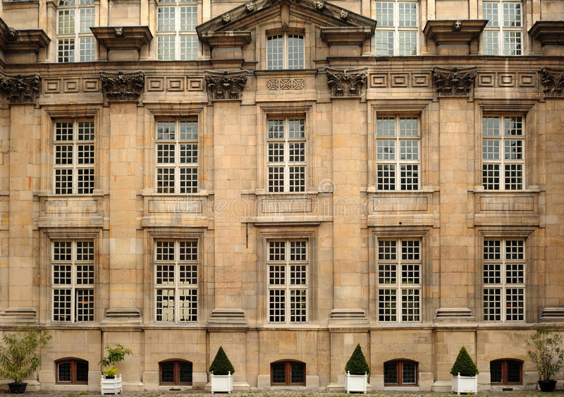 France Paris Museum Carnavalet stock photo