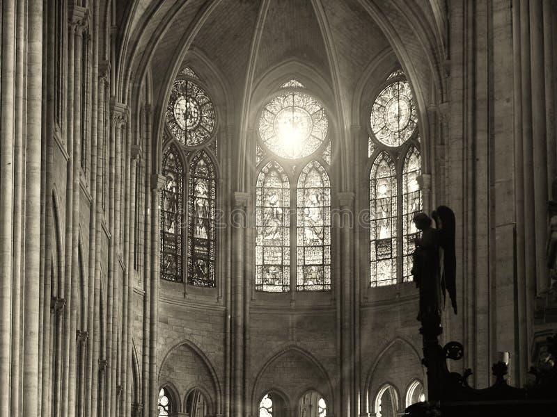 france paris 11/04/2007 Notre Dame domkyrka arkivfoton