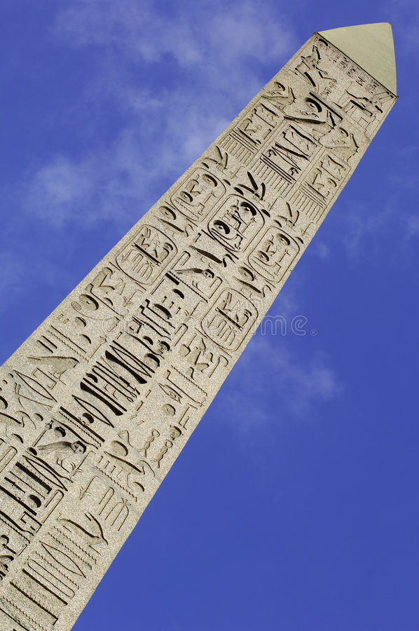 Free France; Paris; The Obelisk At The Concorde Square Stock Photography - 5922462
