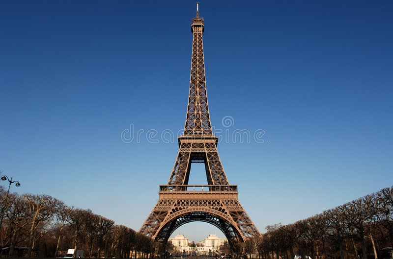 France, Paris: Torre Eiffel imagem de stock royalty free