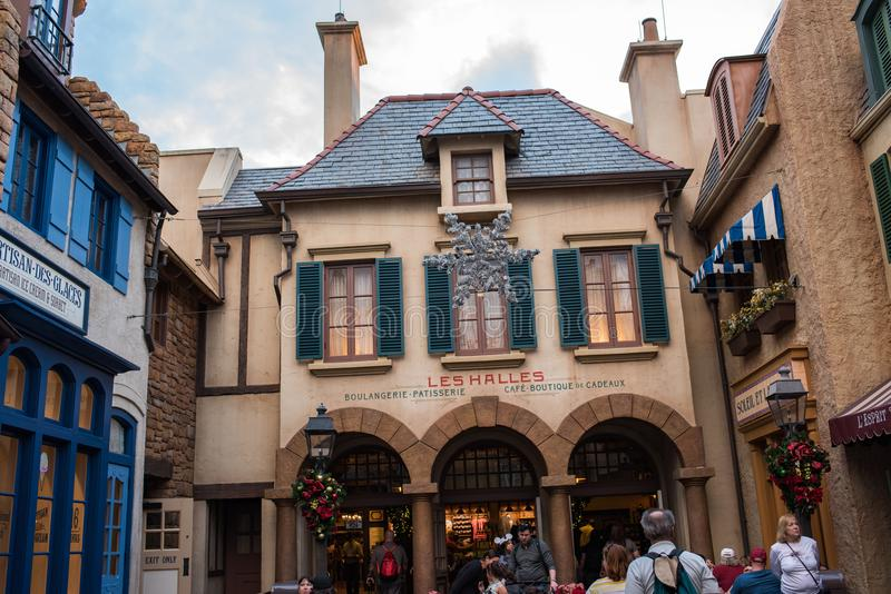 France Pavilion at Epcot stock photography