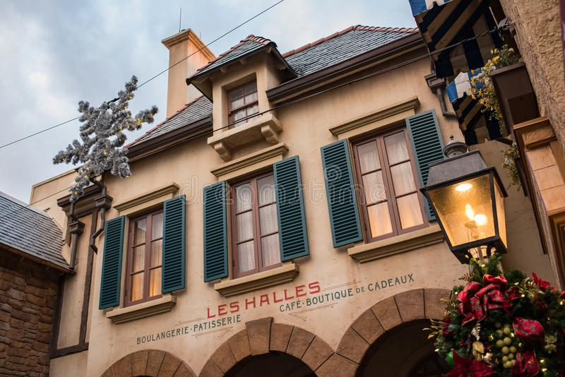 France Pavilion at Epcot royalty free stock images