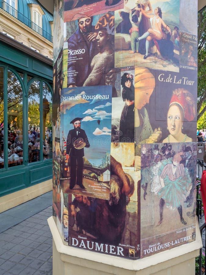 France pavilion, World Showcase, Epcot royalty free stock image