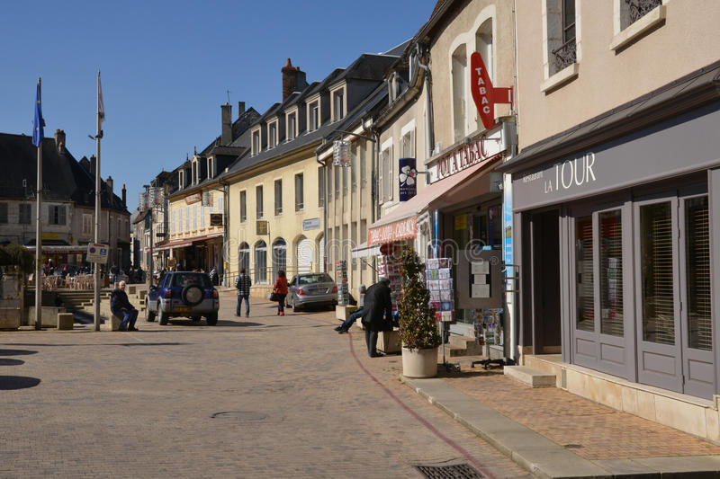 France, picturesque city of Sancerre in Cher royalty free stock photography