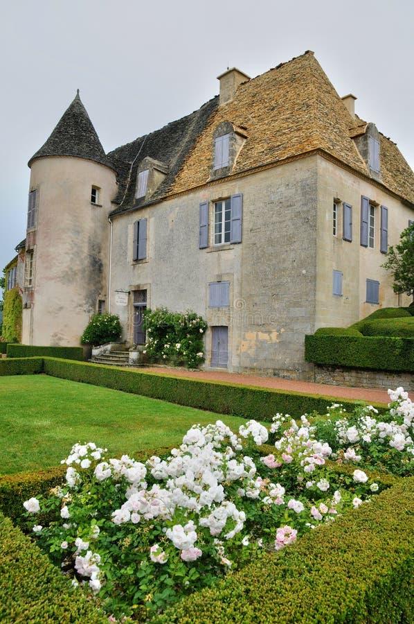 France, picturesque garden of Marqueyssac in Dordogne. France, the picturesque garden of Marqueyssac in Dordogne royalty free stock photos