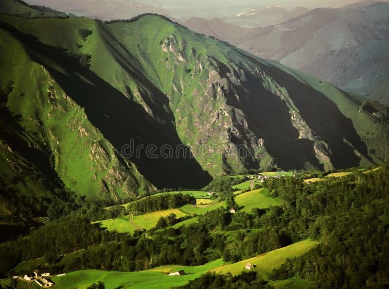 france pyrenees spain royaltyfri bild