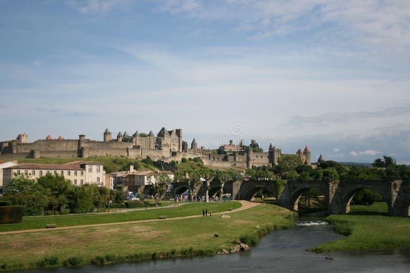 France sceniczny carcassonne zdjęcie royalty free
