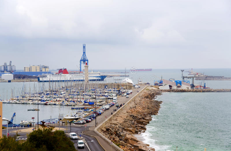 Download France. Sete.  An Output From  Port To The Gulf Stock Photo - Image: 25643612