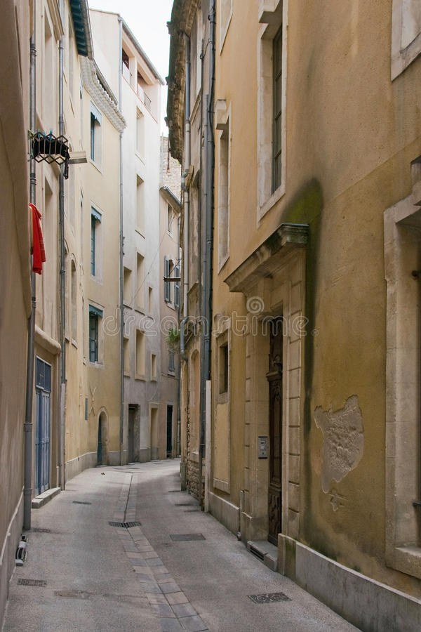 france streetscape Nimes zdjęcia royalty free