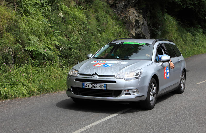 France Television Car Editorial Photo