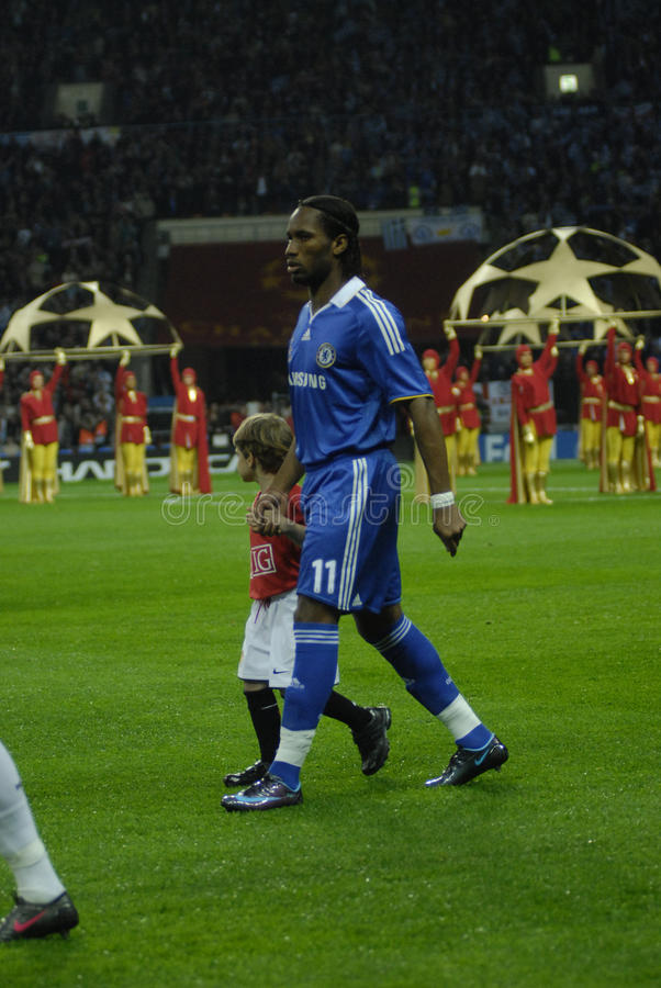 FranceFootball 2009 Best 30Players Didier Drogba Editorial Photography
