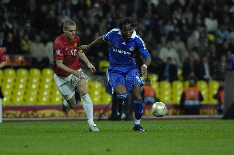 FranceFootball 2009 Best 30Players Didier Drogba Editorial Stock Image