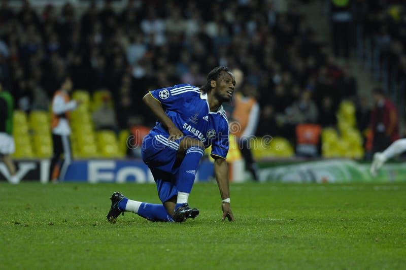 FranceFootball 2009 beste 30Players Didier Drogba lizenzfreies stockfoto