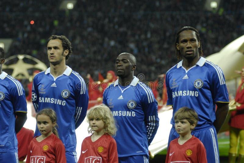 FranceFootball 2009 beste 30Players Didier Drogba stockbilder