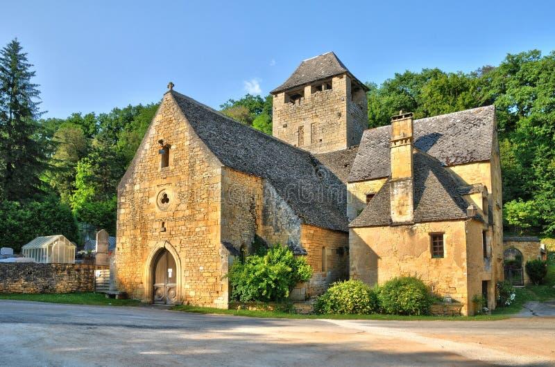 Frances, église de Crepin de saint dans Dordogne photos libres de droits