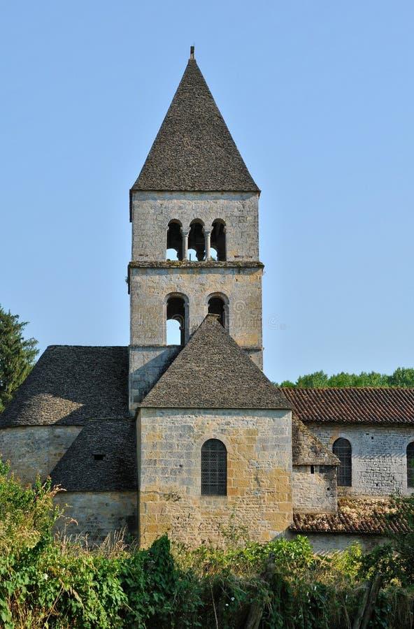 Frances, église de Vezere de sur de Léon de saint dans Perigord photos libres de droits