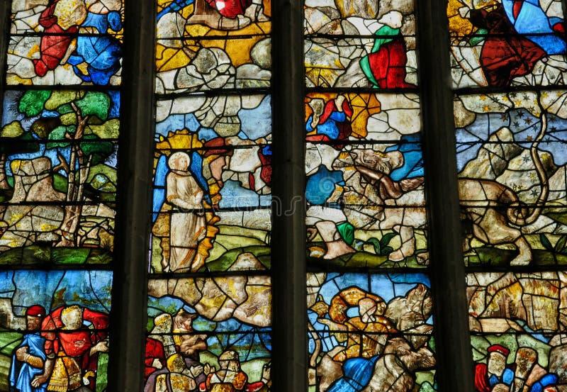 Frances, église historique de Buchy photo libre de droits