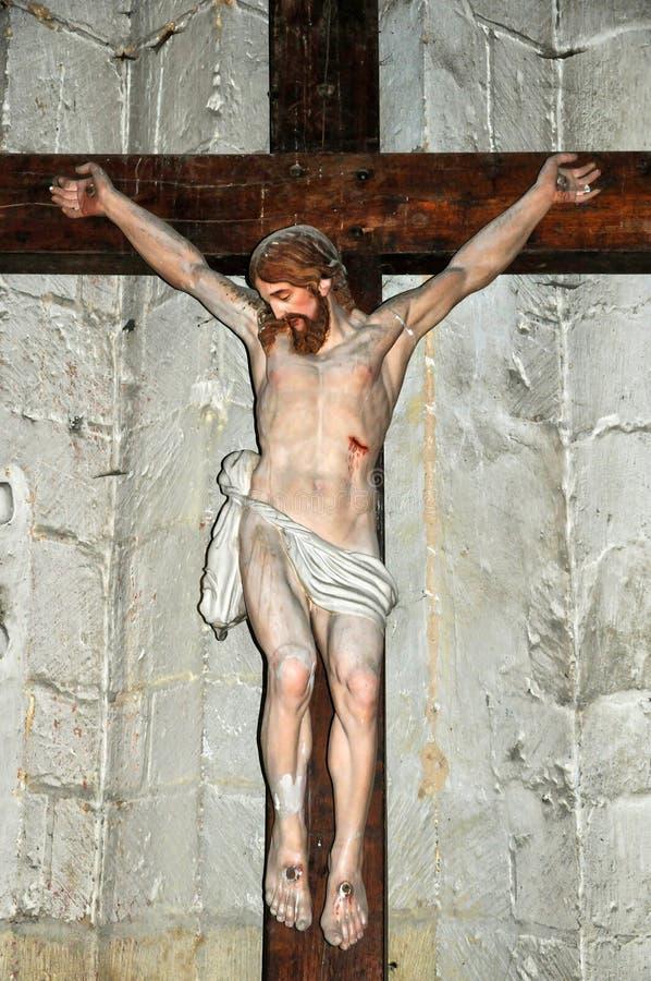 Frances, abbaye de Cadouin dans Dordogne photographie stock libre de droits