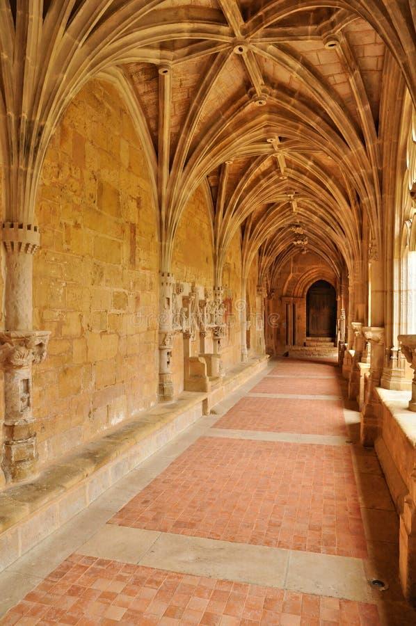 Frances, abbaye de Cadouin dans Perigord images libres de droits