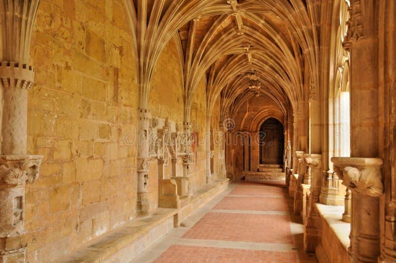 Frances, abbaye de Cadouin dans Perigord image libre de droits
