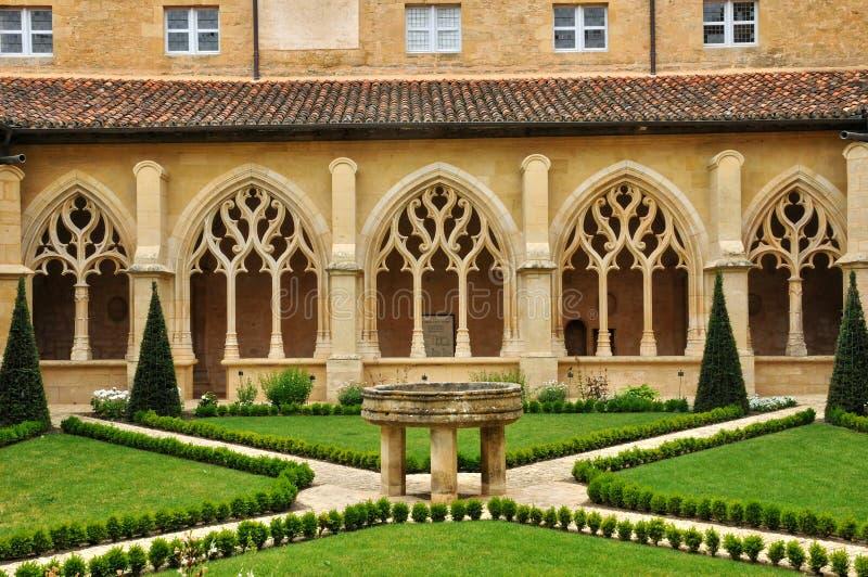 Frances, abbaye de Cadouin dans Perigord photographie stock