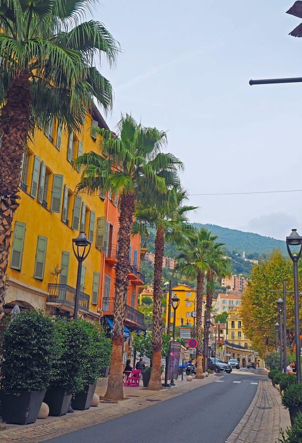 FRANCES D'HERBE, SEPTEMBRE 2017 : Vieille ville de Grasse, ville en Provence célèbre pour son industrie de parfum, France photo libre de droits