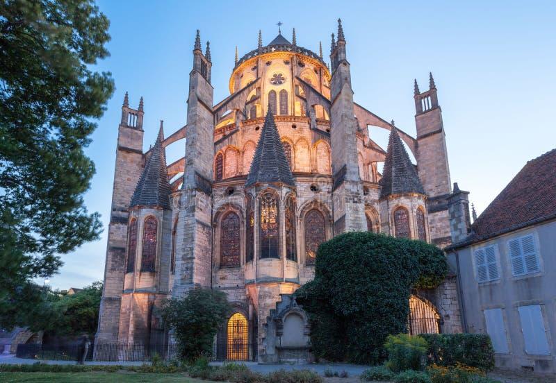 Frances de Bourges de cathédrale image libre de droits