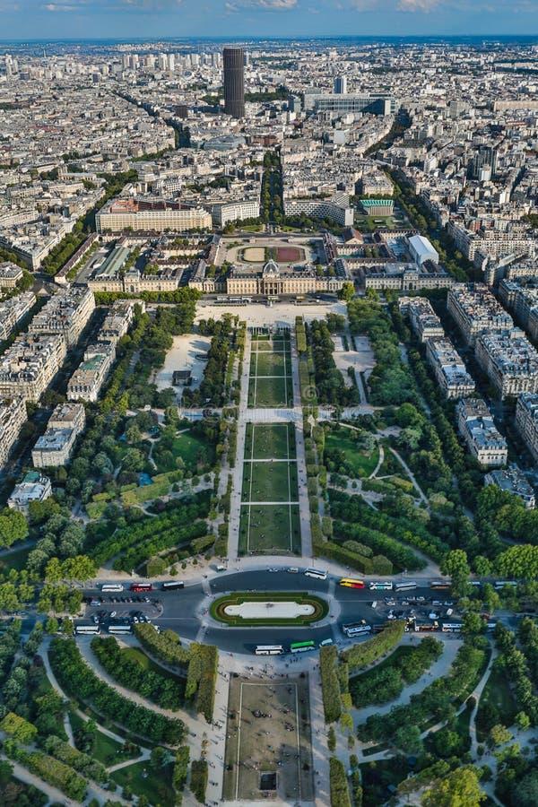 Frances de Paris - photo aérienne images libres de droits