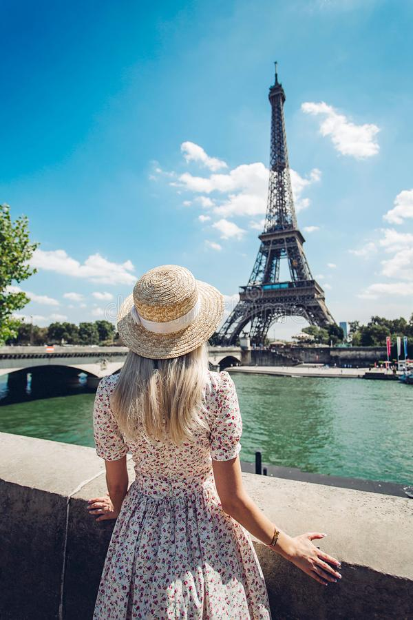 Frances de Paris Tour Eiffel photos libres de droits