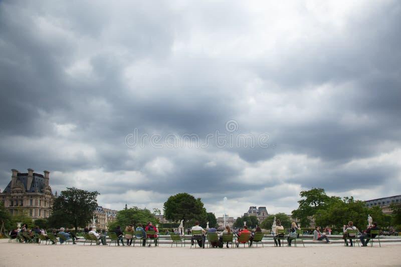 Frances de Tuileries Paris photographie stock libre de droits
