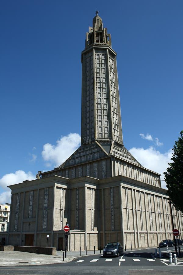Frances du Havre d'église de St Joseph image libre de droits