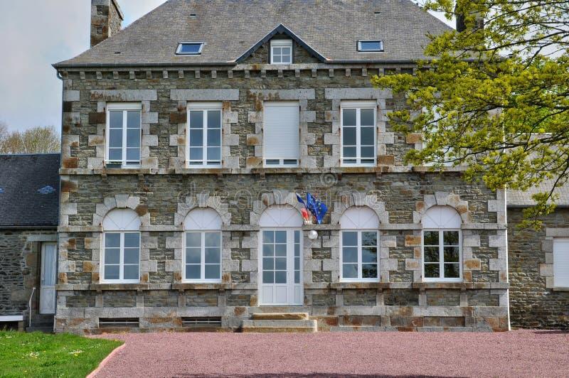 Frances, hôtel de ville de Courtils dans Normandie image libre de droits