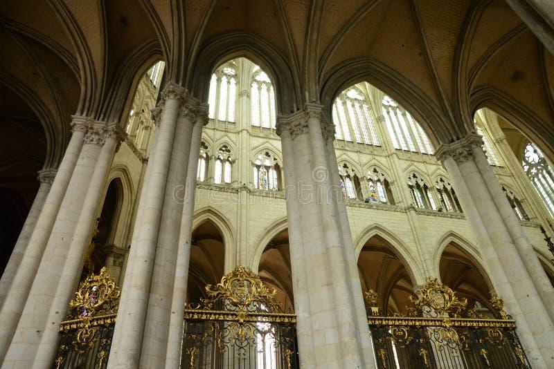Frances, la ville d'Amiens dans Picardie images stock
