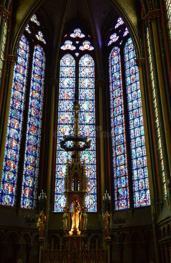 Frances, la ville d'Amiens dans Picardie photos stock