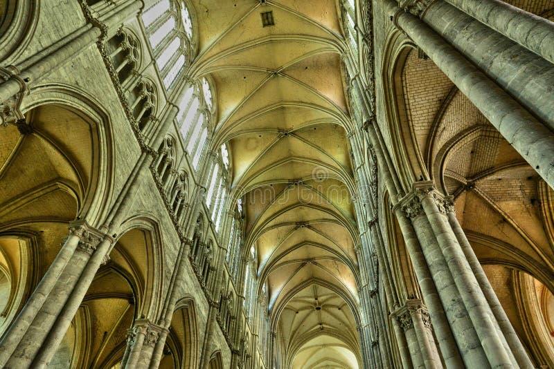 Frances, la ville pittoresque d'Amiens dans Picardie photographie stock
