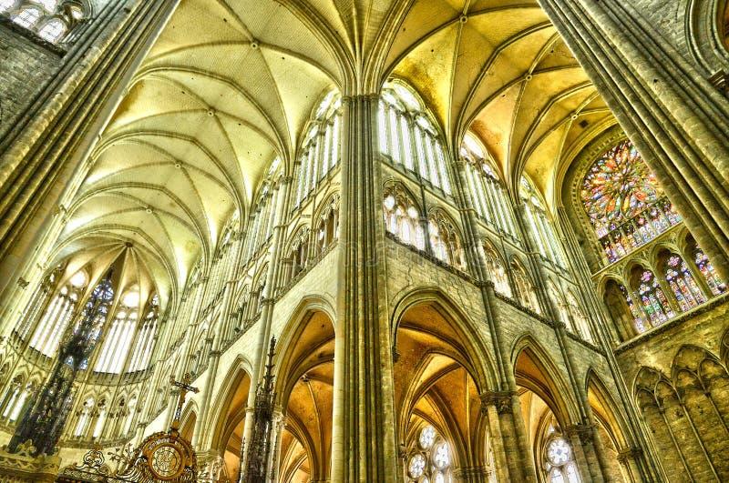 Frances, la ville pittoresque d'Amiens dans Picardie image libre de droits